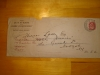 letter envelope from Dr. Bucke