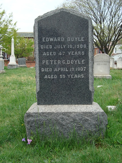 Pete Doyle, Washington Congressional Cemetery