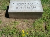 Mannahatta Whitman, TJW daughter, Bellefontaine Cemetery, St. Louis, MO