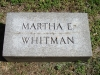 Martha Whitman, TJW wife, Bellefontaine Cemetery, St. Louis, MO