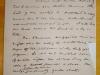 Handwritten Traubel Letter