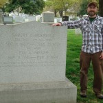 Author at Robert Ingersoll grave (March 2012)