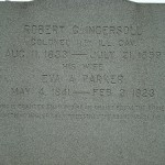 Robert G. Ingersoll marker (March 2012)