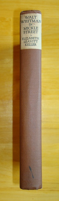 Walt Whitman in Mickle Street (spine)