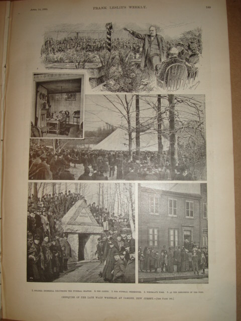 Full page of images. Frank Leslie's Illustrated Weekly, April, 14, 1892