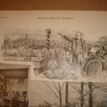 Robert Ingersoll delivering Whitman's eulogy. Frank Leslie's Illustrated Weekly, April, 14, 1892