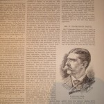 Adieu, Walt Whitman article. Frank Leslie's Illustrated Weekly, April, 14, 1892