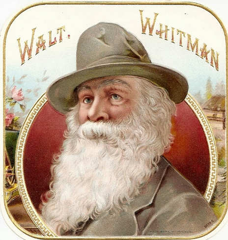 The most common Whitman cigar label. Circa 1920's. Camden, NJ