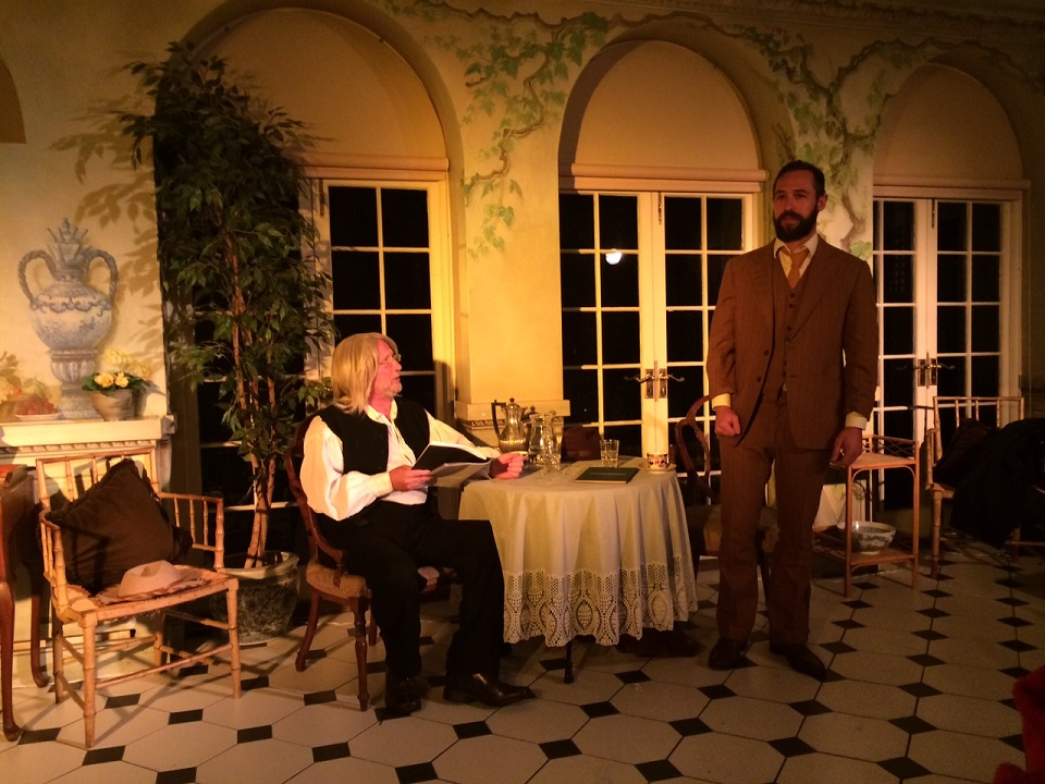 Gary Richardson as Walt Whitman; Andrew Squires as Edward Carpenter